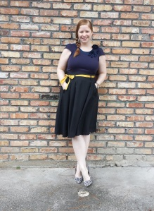 Navy and Mustard 1