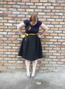 Navy and Mustard 3