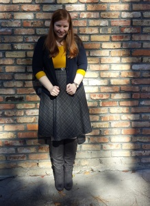 plaid skirt 1