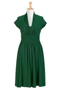 Cotton Knit Dress