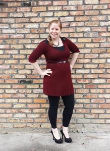 Dress and leggings 1