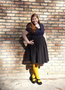 Mustard Tights 1