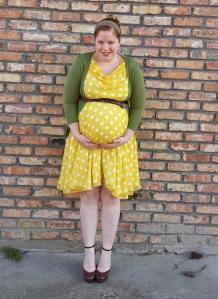Yellow polka dots 4