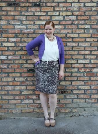 Animal Print skirt 2