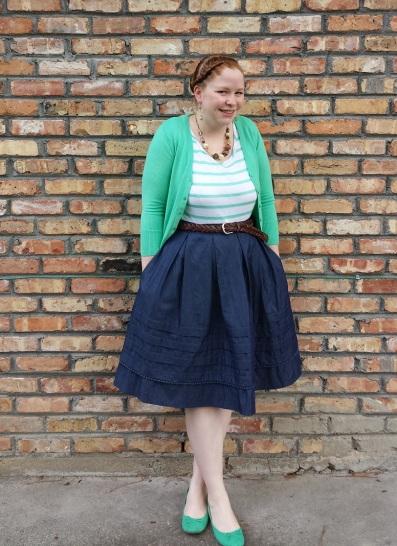 Chambray Skirt 2