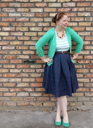 Chambray Skirt 3